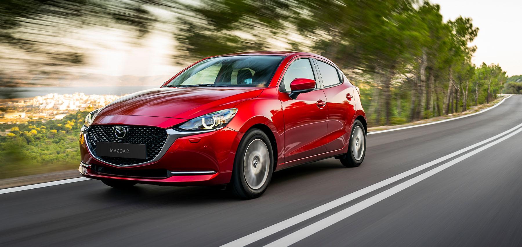 L'inconfondibile firma stilistica del design Kodo-Soul of Motion dona a Mazda2 2020 una personalità prorompente